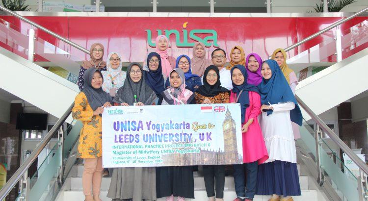 UNISA Melepas 12 Mahasiswa Program Magister Kebidanan ke University of Leeds, Inggris